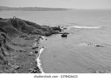 A graphic view of Gulf of Sozopol in a rainy day, Sozopol, Bulgaria, Europe Sozopol is an ancient seaside town located 35 km south of Burgas City on the southern Bulgarian Black Sea Coast.