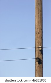 graphics of a pylon and wires
