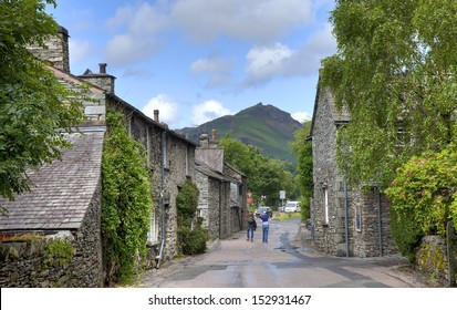 Grasmere village, the Lake District, Cumbria, England