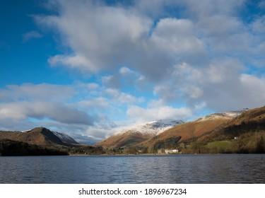 Grasmere in winter. English Lake District
