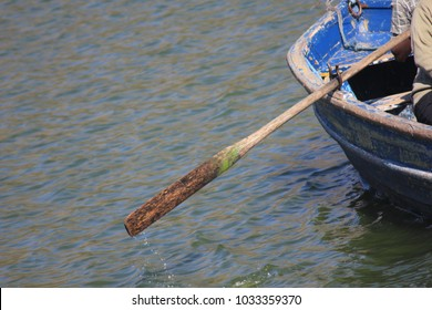 Grasp the oar