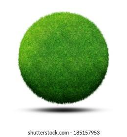 Grass Ball Planet