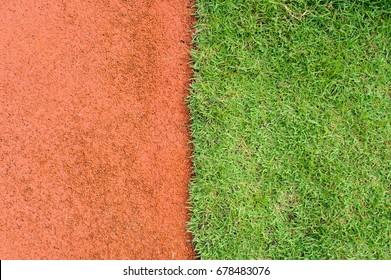 Grass field ball