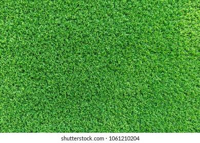 Grass field texture for golf course, soccer field or sports background concept design. Artificial grass.