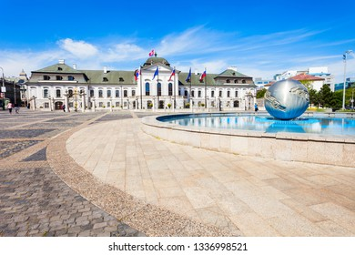 The Grassalkovich Palace is a palace in Bratislava and the residence of the president of Slovakia. Grassalkovich Palace is situated on Hodzovo Namestie square.