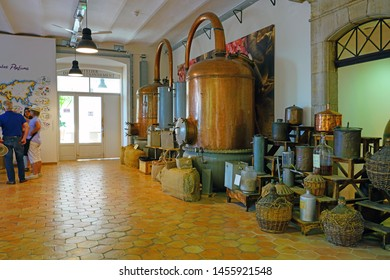 GRASSE, FRANCE -21 APR 2018- View of the Fragonard perfume museum and factory located in Grasse, Provence, France.