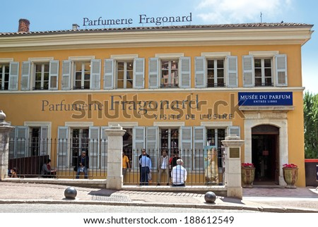 Grasse France May 3 Parfumerie Fragonard Stock Photo Edit Now