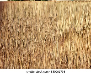 Grasses thatch roof background texture,  wallpaper