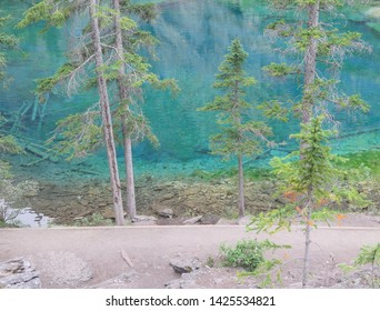 Grassi Lake Canmore Rocky Mountains Alberta Canada August