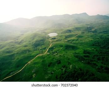 Grassland natural scenery