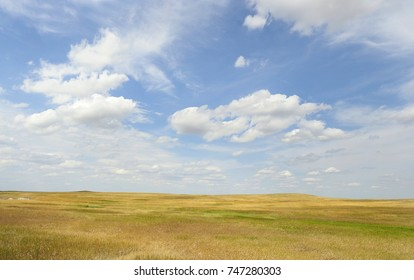 The Grasslands of the Great Plains in South Dakota - Shutterstock ID 747280303