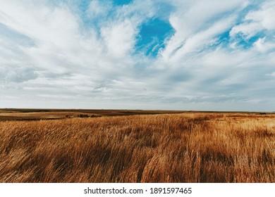 Grassy plains of western Kansas