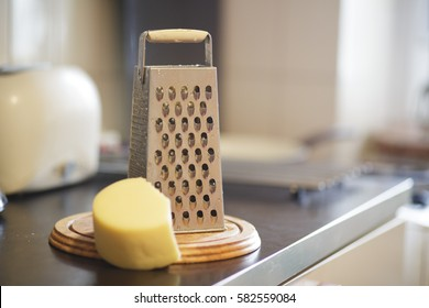 Grater on the table