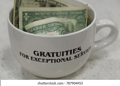 Gratuities for exceptional service