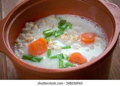 Graubunden Barley Soup - classic soup from Switzerland