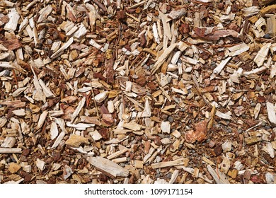 gravel bark and wood chip background texture