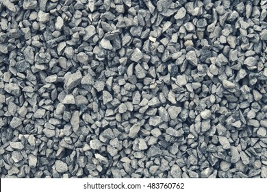 gravel / grit (3 - 6 mm) of glauconite sandstone, dark blue and cold color tone