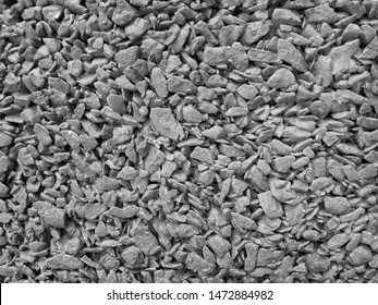 Gravel or pebbles texture of gravel stone wall for background and texture.