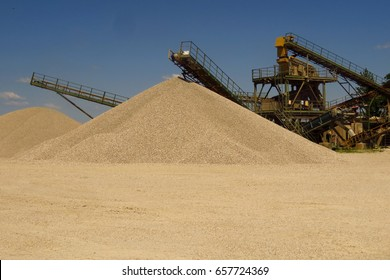 Gravel pit - Gravel extraction - Gravel pit mine