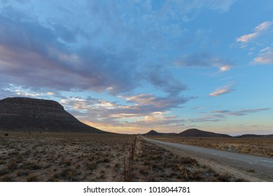 Gravel road in the Karoo