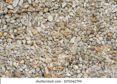 Gravel rubble pavement background