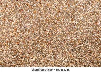 Gravel Stone, Cement Pavement or Pebble Road Street, Background and Textured.