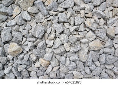 Gravel texture and background