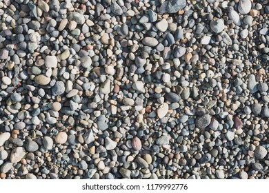 Gravels at the beach for background.