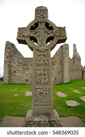 Graves with the Celtic cross, Northern Ireland