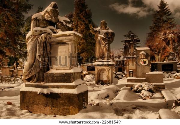 Graveyard, Jicin, Czech Republic
