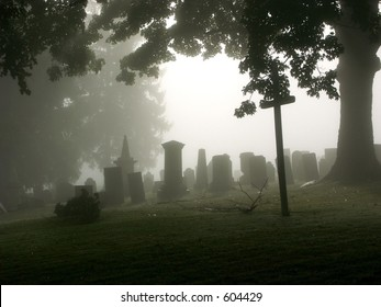 A graveyard in the Town of Northeast, Dutchess County, NY.
