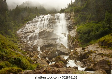 Grawa waterfall, Stubai Alps, Austria
