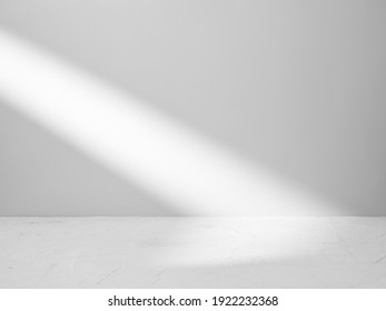 Gray background for product presentation with beam of light - Shutterstock ID 1922232368