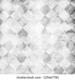 Gray black and white grid abstract background with subtle monotone weathered distressed textures
