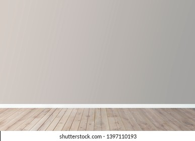 Gray blank concrete wall mockup