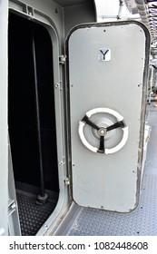 Gray Boat Door & boat Door