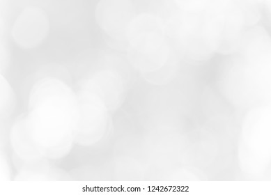 Gray bokeh background from nature