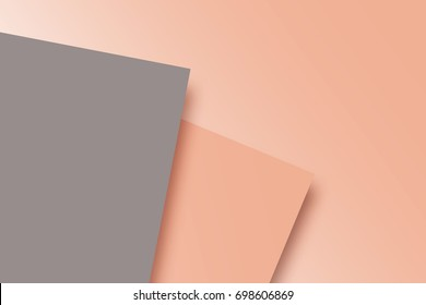 Gray and brown two tone color paper background, can be used as a background