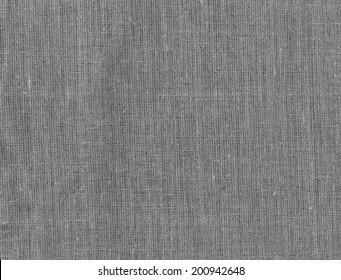 Gray burlap sacking as background