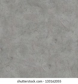 Gray Cement Wall. Seamless Tileable Texture.