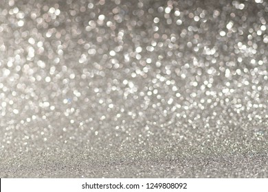 Gray Christmas or New Year festive background