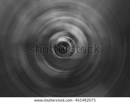 Gray Circle Abstract Background Film Grain Stock Photo (Edit Now