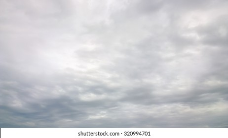 The gray cloud