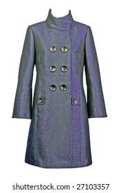 gray coat wool