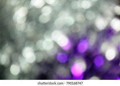 gray color abstract bacground withe blurred defocus bokeh light for template