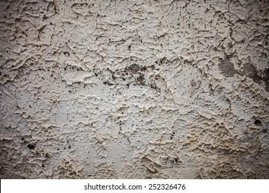 Gray concrete cracked stone texture background