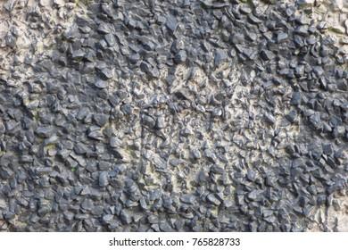 gray concrete grained surface