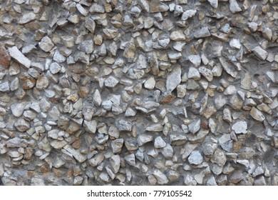 gray concrete rough non-uniform surface