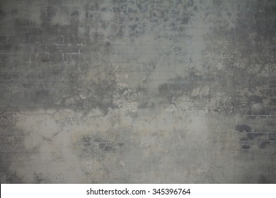 Gray concrete wall. Cement wall