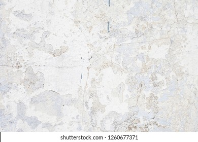 The gray concrete wall with grunge for abstract background.